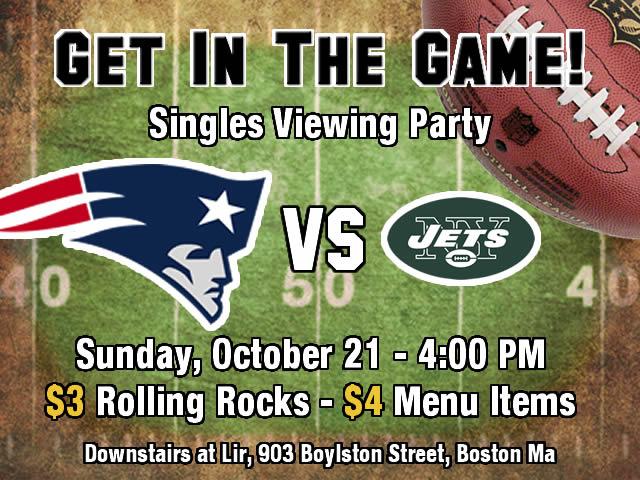 boston singles party