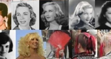 Hair styles of the past 100 years